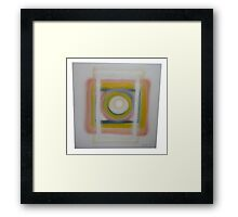 Untitled Square (failure) 2  Framed Print