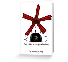 Through The Mill Greeting Card