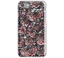Abstract Red Nature Pattern iPhone Case/Skin
