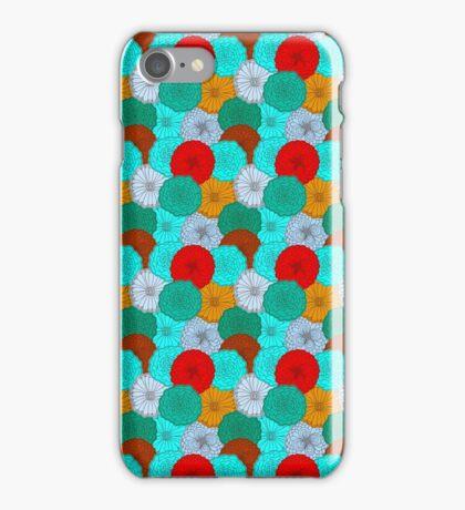 Bright Flower, Bright Flowers iPhone Case/Skin