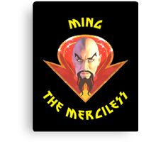 Ming the Merciless - Solo Yellow Variant  Canvas Print