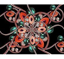 Luxury Collage Ornament New Noveau Artwork Photographic Print