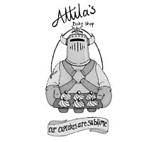 Attila's bake shop Photographic Print