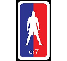 -SPORTS- CR7 NBA Style Photographic Print