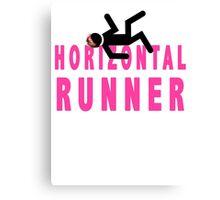 Horizontal Runner Canvas Print