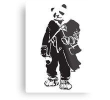 Panda Pong Metal Print
