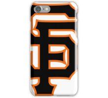 SAN FRANCISCO BASEBALL iPhone Case/Skin