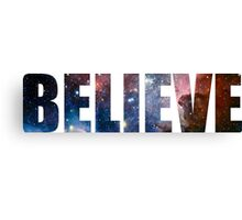 -MUSIC- Believe Canvas Print