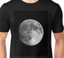 Halloween Full Moon in Black Night Sky Unisex T-Shirt