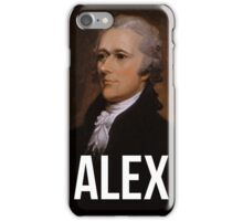 Alex - Alexander Hamilton Portrait iPhone Case/Skin