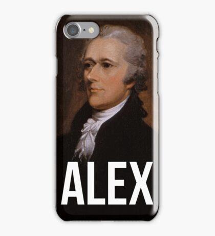 Alex - Alexander Hamilton Portrait iPhone Case/Skin