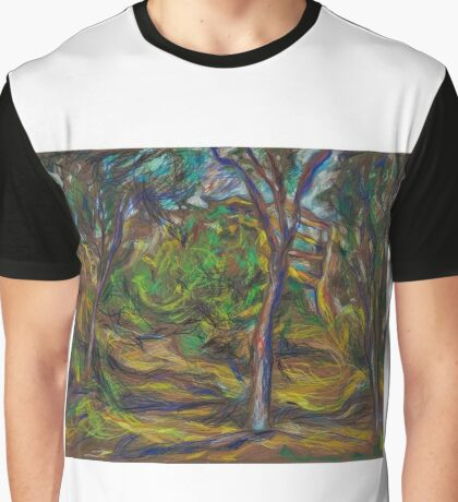 Out of Town Landscape  Graphic T-Shirt