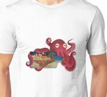 World in bottle: Atalantis (Octopus - monster) Unisex T-Shirt