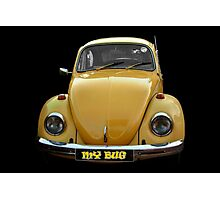 My bug - yellow Photographic Print