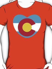 Colorado Love, Cyan T-Shirt
