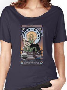 Silence Will Fall: The River's Pietà Women's Relaxed Fit T-Shirt