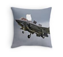 Lockheed Martin F-35B Lightning ll Throw Pillow