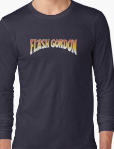 Flash Gordon - Original Movie Logo Long Sleeve T-Shirt