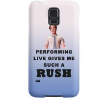 Benji - Performing Live Quote Samsung Galaxy Case/Skin