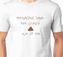 My Chemical Romance Teenagers Scare the Living Shit out of Me Unisex T-Shirt