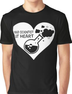 Mad Scientist at Heart Graphic T-Shirt