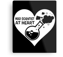 Mad Scientist at Heart Metal Print