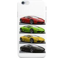 Four Lambo iPhone Case/Skin