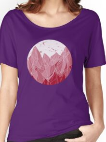 Sunset Mountain ! Women's Relaxed Fit T-Shirt