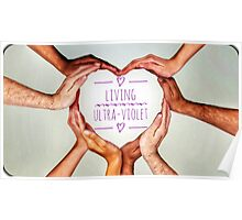 Love multi cultrual hands Poster