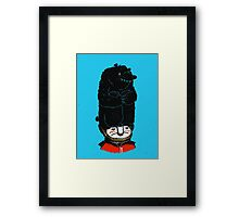 Queens Guard Hates Hat Framed Print