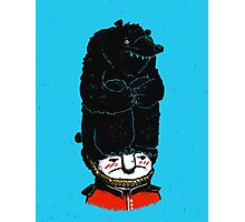Queens Guard Hates Hat Photographic Print