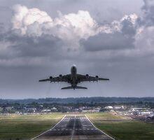 Airbus A380 by Nigel Bangert