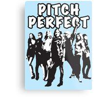 Pitch Perfect Cast Edit Metal Print