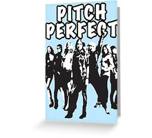 Pitch Perfect Cast Edit Greeting Card