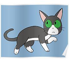 Tuxedo Cat Love! Poster