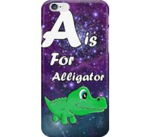 A is for Alligator iPhone Case/Skin