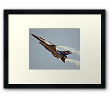 Belgian Air Force F-16 Falcon(350th Squadron) Framed Print