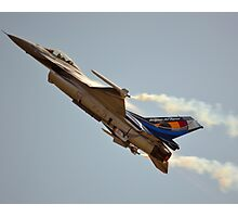 Belgian Air Force F-16 Falcon(350th Squadron) Photographic Print