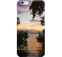 Palawan Mangrove Sunset Philippines iPhone Case/Skin