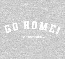 GO HOME! at sunrise Kids Tee