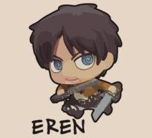 Eren Jaeger: Attack on Titan (With Name) T-Shirt