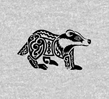 Badger Tribal Design Unisex T-Shirt