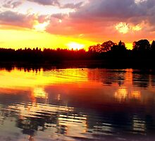Stiefelweiher Sunset by ©The Creative  Minds