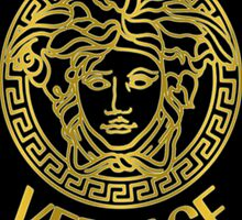 medusa gold / black logo tshirts and iphone cases  by shopsadness