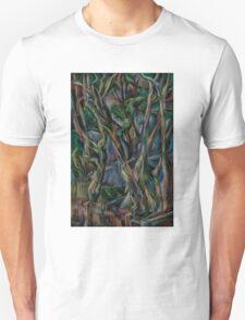 Winter Tree Blues Unisex T-Shirt