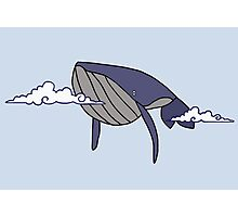 Cloudy With a Chance of Whales Photographic Print