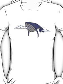 Cloudy With a Chance of Whales T-Shirt