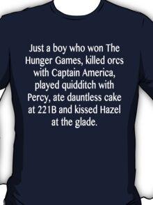 a boy.. T-Shirt