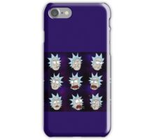 Rick Sanchez Galaxy Expressions iPhone Case/Skin