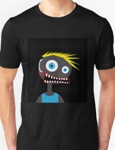 Crazy blond man Unisex T-Shirt